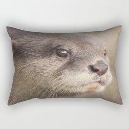 Otterly gorgeous!! Rectangular Pillow