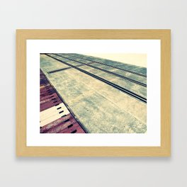 Airplane Hangar Floor 3 Framed Art Print