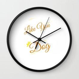 Why I Own a Dog Wall Clock