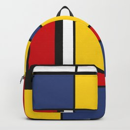 Downtown, Tribute to Mondrian Backpack