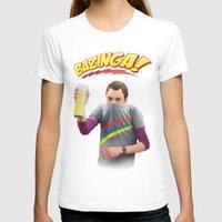 bazinga T-shirts featuring Sheldon  - BAZINGA! by ShannonPosedenti