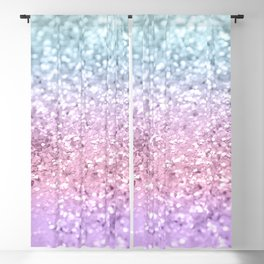 Unicorn Girls Glitter #4 #shiny #pastel #decor #art #society6 Blackout Curtain