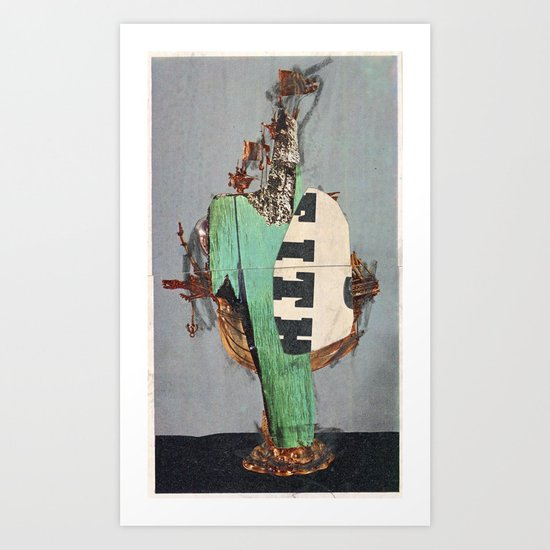 4076 S. Art Print