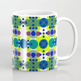 Retro Circle Diamonds Coffee Mug