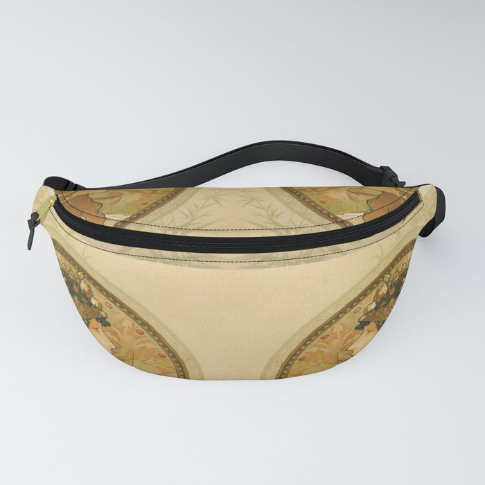 "Alphonse Mucha ""Byzantine Head: The Brunette"" Fanny Pack"