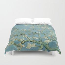 Vincent van Gogh - Almond Blossoms 1890 Duvet Cover