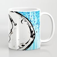 luna Mugs featuring Luna by Alux Medina