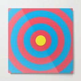 Target (Archery Design) Metal Print