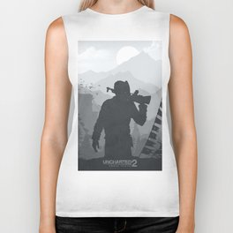 Uncharted 2 Among Thieves Biker Tank