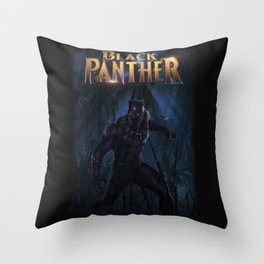 T'Challa , The Black Panther Throw Pillow