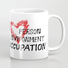 Occupational Therapy Person-Environment-Occupation Coffee Mug