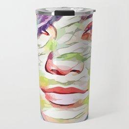 Vanessa Hudgens (Creative Illustration Art) Travel Mug