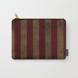 Vintag Stripes Carry-All Pouch