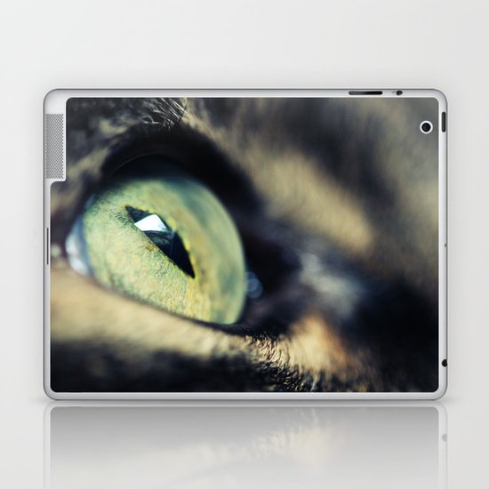Green Iris Laptop & iPad Skin