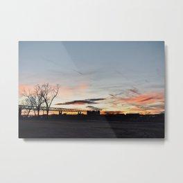 Sunset in Memphis Metal Print