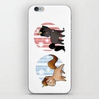 unicorns iPhone & iPod Skins featuring Unicorns by Sunshunes