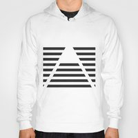 pyramid Hoodies featuring Pyramid by Justin Yanke