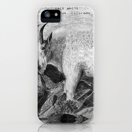 Dale's Rocky Mountain Goat iPhone Case