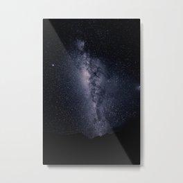 Starnight - Stars in the sky galaxy space Metal Print
