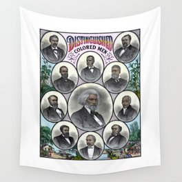 Distinguished Colored Men Wall Tapestry