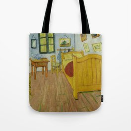 The Bedroom by Vincent van Gogh Tote Bag