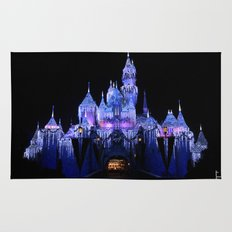 Sleeping Beauty's Winter Castle Rug