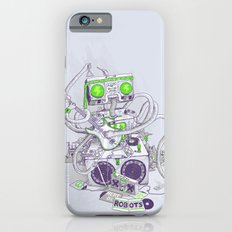 Hippy robot iPhone 6s Slim Case