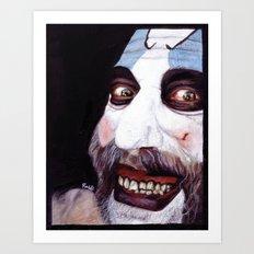 Captain Spaulding Art Print