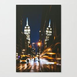Empire State Building Reflection Canvas Print