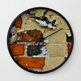 Bricks 1 Wall Clock