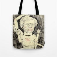 napoleon Tote Bags featuring Napoleon Dynamite by withapencilinhand