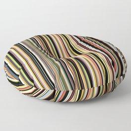 Old Skool Stripes - The Dark Side Floor Pillow