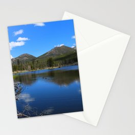 Sprague Lake And Cloud Reflection Stationery Cards