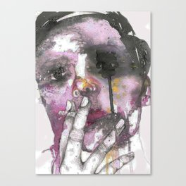 Cigarettes and a chance of rain Canvas Print