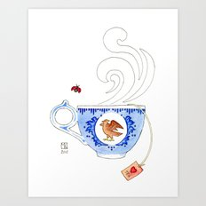 Molly's Cup Art Print
