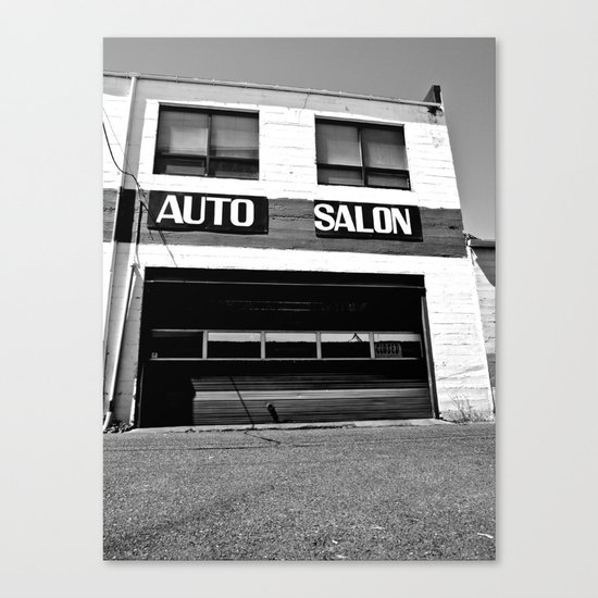 Auto Salon Canvas Print