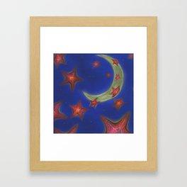 Cling Framed Art Print