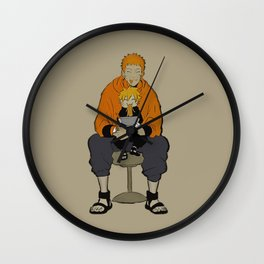 Naruto Boruto love ramen Wall Clock