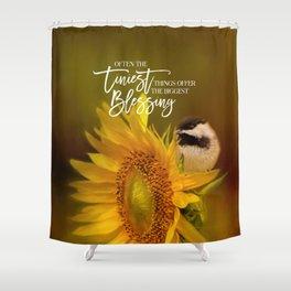 Tiny Surprise Shower Curtain