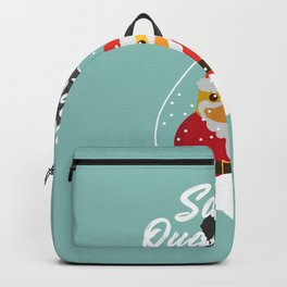 Merry Christmas Ducky Pt.4 Backpack