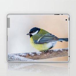 Male Great Tit Laptop & iPad Skin