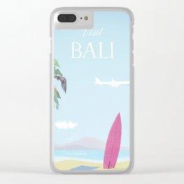 Visit Bali Clear iPhone Case
