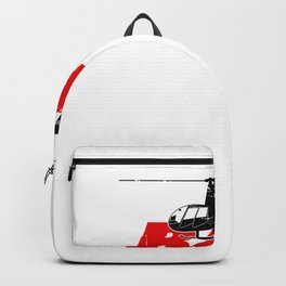 R44 Helicopter Heli Pilot Aviation Helo Backpack