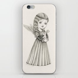 Angel of Peace iPhone Skin