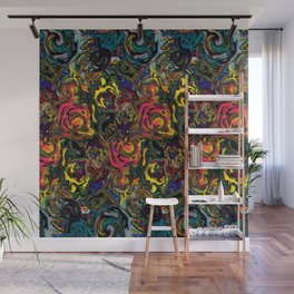 Etnic Trippy Wall Mural