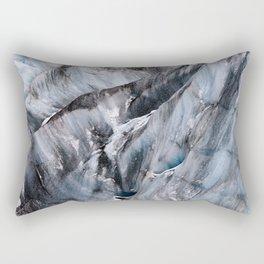 Yanapaccha Glacier Abstract Rectangular Pillow