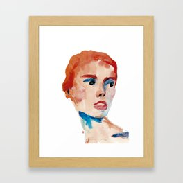 Stains 28 Framed Art Print