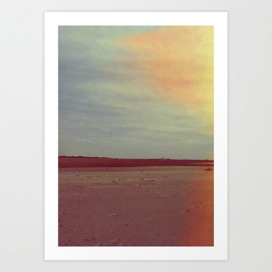 NOTHING / EVERYTHING Art Print