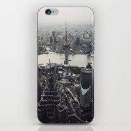 Shanghai Skyscrapers iPhone Skin
