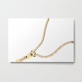zip #society6 #decor #buyart Metal Print